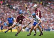 3 September 2017; Michael Walsh of Waterford in action against Johnny Coen, left, and John Hanbury during the GAA Hurling All-Ireland Senior Championship Final match between Galway and Waterford at Croke Park in Dublin. Photo by Seb Daly/Sportsfile