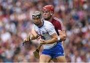 3 September 2017; Darragh Fives of Waterford in action against Jonathan Glynn of Galway during the GAA Hurling All-Ireland Senior Championship Final match between Galway and Waterford at Croke Park in Dublin. Photo by Seb Daly/Sportsfile
