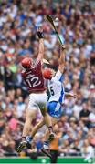 3 September 2017; Jonathan Glynn of Galway in action against Tadhg de Búrca of Waterford during the GAA Hurling All-Ireland Senior Championship Final match between Galway and Waterford at Croke Park in Dublin. Photo by Eóin Noonan/Sportsfile