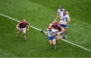 3 September 2017; Tadhg de Búrca of Waterford in action against Jonathan Glynn of Galway during the GAA Hurling All-Ireland Senior Championship Final match between Galway and Waterford at Croke Park in Dublin. Photo by Daire Brennan/Sportsfile
