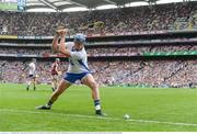 3 September 2017; Austin Gleeson of Waterford in action during the GAA Hurling All-Ireland Senior Championship Final match between Galway and Waterford at Croke Park in Dublin. Photo by Piaras Ó Mídheach/Sportsfile
