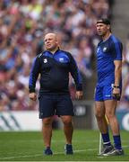 3 September 2017; Waterford manager Derek McGrath, left, and selector Dan Shanahan during the GAA Hurling All-Ireland Senior Championship Final match between Galway and Waterford at Croke Park in Dublin. Photo by Seb Daly/Sportsfile