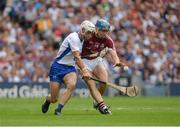 3 September 2017; Conor Cooney of Galway in action against Shane Fives of Waterford during the GAA Hurling All-Ireland Senior Championship Final match between Galway and Waterford at Croke Park in Dublin. Photo by Piaras Ó Mídheach/Sportsfile