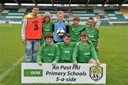 5 June 2012; The Brierhill NS, Co. Galway, team. An Post FAI Primary Schools 5-a-Side All-Ireland Finals, Tallaght Stadium, Tallaght, Dublin. Picture credit: Barry Cregg / SPORTSFILE