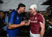 3 September 2017; Waterford selector Dan Shanahan and Joe Canning of Galway following the GAA Hurling All-Ireland Senior Championship Final match between Galway and Waterford at Croke Park in Dublin. Photo by Stephen McCarthy/Sportsfile