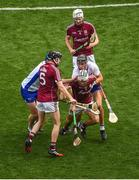 3 September 2017; Daithí Burke of Galway in action against Maurice Shanahan of Waterford during the GAA Hurling All-Ireland Senior Championship Final match between Galway and Waterford at Croke Park in Dublin. Photo by Daire Brennan/Sportsfile