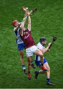 3 September 2017; Niall Burke of Galway in action against Tadhg de Búrca of Waterford during the GAA Hurling All-Ireland Senior Championship Final match between Galway and Waterford at Croke Park in Dublin. Photo by Daire Brennan/Sportsfile