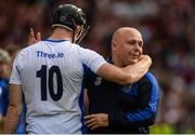 3 September 2017; Kevin Moran of Waterford and his manager Derek McGrath dejected after the GAA Hurling All-Ireland Senior Championship Final match between Galway and Waterford at Croke Park in Dublin. Photo by Piaras Ó Mídheach/Sportsfile