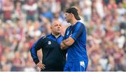 3 September 2017; Waterford manager Derek McGrath with selector Dan Shanahan, right, after the GAA Hurling All-Ireland Senior Championship Final match between Galway and Waterford at Croke Park in Dublin. Photo by Piaras Ó Mídheach/Sportsfile