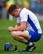 3 September 2017; A dejected Austin Gleeson of Waterford after the GAA Hurling All-Ireland Senior Championship Final match between Galway and Waterford at Croke Park in Dublin. Photo by Brendan Moran/Sportsfile