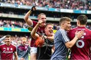3 September 2017; Conor Whelan and James Skehill of Galway during the GAA Hurling All-Ireland Senior Championship Final match between Galway and Waterford at Croke Park in Dublin. Photo by Sam Barnes/Sportsfile