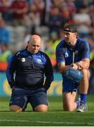 3 September 2017; Waterford manager Derek McGrath, left, and selector Dan Shanahan dejected after the GAA Hurling All-Ireland Senior Championship Final match between Galway and Waterford at Croke Park in Dublin. Photo by Piaras Ó Mídheach/Sportsfile