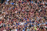 3 September 2017; Supporters of both teams during a minute of applause, in the 6th minute, to honour the late Tony Keady during the GAA Hurling All-Ireland Senior Championship Final match between Galway and Waterford at Croke Park in Dublin. Photo by Ray McManus/Sportsfile