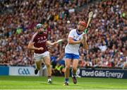 3 September 2017; Tadhg de Burca of Waterford in action against Conor Cooney of Galway during the GAA Hurling All-Ireland Senior Championship Final match between Galway and Waterford at Croke Park in Dublin. Photo by Sam Barnes/Sportsfile
