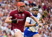 3 September 2017; Conor Whelan of Galway in action against Noel Connors of Waterford during the GAA Hurling All-Ireland Senior Championship Final match between Galway and Waterford at Croke Park in Dublin. Photo by Sam Barnes/Sportsfile