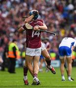 3 September 2017; Conor Cooney and Conor Whelan of Galway after the GAA Hurling All-Ireland Senior Championship Final match between Galway and Waterford at Croke Park in Dublin. Photo by Ray McManus/Sportsfile