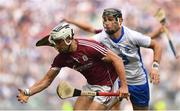3 September 2017; Daithí Burke of Galway in action against Maurice Shanahan of Waterford during the GAA Hurling All-Ireland Senior Championship Final match between Galway and Waterford at Croke Park in Dublin. Photo by Brendan Moran/Sportsfile