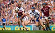 3 September 2017; John Hanbury of Galway in action against Michael Walsh of Waterford during the GAA Hurling All-Ireland Senior Championship Final match between Galway and Waterford at Croke Park in Dublin. Photo by Brendan Moran/Sportsfile