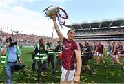 3 September 2017; Conor Cooney of Galway with the Liam MacCarthy Cup after during the GAA Hurling All-Ireland Senior Championship Final match between Galway and Waterford at Croke Park in Dublin. Photo by Brendan Moran/Sportsfile