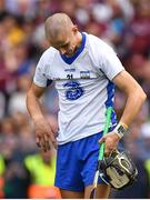 3 September 2017; A dejected Maurice Shanahan of Waterford after the GAA Hurling All-Ireland Senior Championship Final match between Galway and Waterford at Croke Park in Dublin. Photo by Brendan Moran/Sportsfile