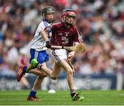 3 September 2017; Barry Egan of St Francis Boys National School, Clara, Co Offaly, representing Galway during the INTO Cumann na mBunscol GAA Respect Exhibition Go Games at Galway v Waterford - GAA Hurling All-Ireland Senior Championship Final at Croke Park in Dublin. Photo by Seb Daly/Sportsfile