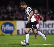 1 September 2017; Conor Clifford of Dundalk during the SSE Airtricity League Premier Division match between Dundalk and St Patrick's Athletic at Oriel Park in Dundalk. Photo by Seb Daly/Sportsfile