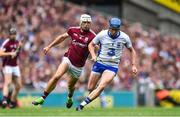 3 September 2017; Austin Gleeson of Waterford in action against Gearóid McInerney of Galway during the GAA Hurling All-Ireland Senior Championship Final match between Galway and Waterford at Croke Park in Dublin. Photo by Ramsey Cardy/Sportsfile