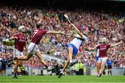 3 September 2017; Maurice Shanahan of Waterford in action against Aidan Harte of Galway during the GAA Hurling All-Ireland Senior Championship Final match between Galway and Waterford at Croke Park in Dublin. Photo by Ramsey Cardy/Sportsfile