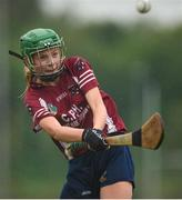 20 August 2017; Sabina Rabbitte, from Athenry, Co Galway, in action during the Girls U14 Camogie final during day 2 of the Aldi Community Games August Festival 2017 at the National Sports Campus in Dublin. Photo by Cody Glenn/Sportsfile