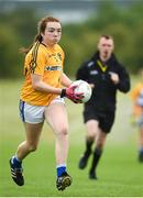 20 August 2017; Aine Smith, from Sheelin, Co Cavan, in action during the U14 Girls Gaelic Football competition during the Community Games August Festival 2017 at the National Sports Campus in Dublin. Photo by Cody Glenn/Sportsfile