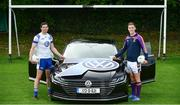 5 September 2017; GAA stars Sean Cavanagh, left, and Kevin Nolan, pictured at the launch of this year's Volkswagen All-Ireland Senior Football Sevens which takes place on the 16th of September at Kilmacud Crokes. This year Volkswagen 7'S TV returns, providing match highlights throughout the day on Volkswagen Twitter page @VolkswagenIE #VW7sTV   Photo by Sam Barnes/Sportsfile