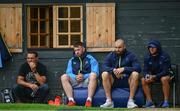 4 September 2017; Former French captain Raphaël Ibañez, left, with Leinster players from left, Sean O'Brien, Scott Fardy and Jamison Gibson-Park during squad training at UCD in Dublin. Photo by Ramsey Cardy/Sportsfile