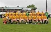 3 June 2012; The Leitrim squad. Connacht GAA Football Senior Championship Quarter-Final, London v Leitrim, Emerald Park, Ruislip, London. Picture credit: Diarmuid Greene / SPORTSFILE