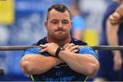 6 September 2017; Leinster's Cian Healy ahead of the first home game in the Guinness PRO14 on Friday evening in the RDS Arena against Cardiff Blues, kick off 7.35pm, Leinster Rugby gave behind the scenes access to one of their training days in UCD. Pictured at Leinster Rugby Headquarters in Dublin. Photo by Ramsey Cardy/Sportsfile