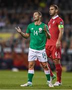 5 September 2017; Wes Hoolahan of Republic of Ireland during the FIFA World Cup Qualifier Group D match between Republic of Ireland and Serbia at the Aviva Stadium in Dublin. Photo by Seb Daly/Sportsfile