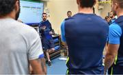 6 September 2017; Leinster athletic performance manager Cillian Reardon ahead of the first home game in the Guinness PRO14 on Friday evening in the RDS Arena against Cardiff Blues, kick off 7.35pm, Leinster Rugby gave behind the scenes access to one of their training days in UCD. Photo by Ramsey Cardy/Sportsfile *