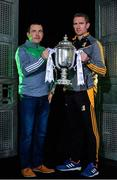 6 September 2017; Limerick U-21 manager Pat Donnelly, left, and Kilkenny U-21 manager Eddie Brennan were in Dublin today to look ahead to this weekend's Bord Gáis Energy GAA Hurling U-21 All-Ireland finals.  The double header will take place in Semple Stadium, Thurles on Saturday, with Kerry and Wicklow throwing in at 1.00pm in the 'B' final and Kilkenny and Limerick taking part in the 'A' final at 3.00pm. Fans unable to attend the game can catch all the action live on TG4 or can follow #HurlingToTheCore online. Photo by Sam Barnes/Sportsfile