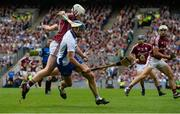 3 September 2017; Michael Walsh of Waterford in action against John Hanbury of Galway during the GAA Hurling All-Ireland Senior Championship Final match between Galway and Waterford at Croke Park in Dublin. Photo by Piaras Ó Mídheach/Sportsfile
