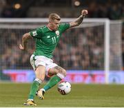5 September 2017; James McClean of Republic of Ireland during the FIFA World Cup Qualifier Group D match between Republic of Ireland and Serbia at the Aviva Stadium in Dublin. Photo by Matt Browne/Sportsfile