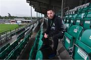 7 September 2017; Shamrock Rovers manager Stephen Bradley after a press conference at Tallaght Stadium in Tallaght, Dublin. Photo by Matt Browne/Sportsfile