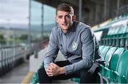 7 September 2017; Lee Grace of Shamrock Rovers after a press conference at Tallaght Stadium in Tallaght, Dublin. Photo by Matt Browne/Sportsfile