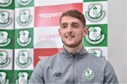 7 September 2017; Lee Grace of Shamrock Rovers during a press conference at Tallaght Stadium in Tallaght, Dublin. Photo by Matt Browne/Sportsfile