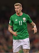 5 September 2017; James McClean of Republic of Ireland during the FIFA World Cup Qualifier Group D match between Republic of Ireland and Serbia at the Aviva Stadium in Dublin. Photo by Brendan Moran/Sportsfile