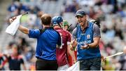 3 September 2017; Galway manager Jeffrey Lynskey during the Electric Ireland GAA Hurling All-Ireland Minor Championship Final match between Galway and Cork at Croke Park in Dublin. Photo by Piaras Ó Mídheach/Sportsfile