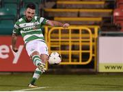 8 September 2017; Brandon Miele of Shamrock Rovers scores his side's second goal during the Irish Daily Mail FAI Cup Quarter-Final match between Bluebell United and Shamrock Rovers at Tallaght Stadium in Tallaght, Dublin. Photo by Matt Browne/Sportsfile