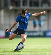 9 September 2017; David Ryan of Leinster kicks a conversion during the U19 Interprovincial Series match between Leinster and Ulster at Donnybrook Stadium in Dublin. Photo by Cody Glenn/Sportsfile