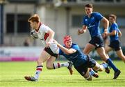 9 September 2017; Zach Kerr of Ulster is tackled by Ryan Baird of Leinster during the U19 Interprovincial Series match between Leinster and Ulster at Donnybrook Stadium in Dublin. Photo by Cody Glenn/Sportsfile