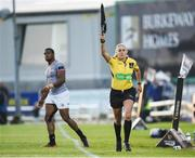 9 September 2017; Assistant referee Joy Neville during the Guinness PRO14 Round 2 match between Connacht and Southern Kings at The Sportsground in Galway. Photo by Seb Daly/Sportsfile