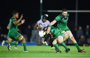 9 September 2017; Masixole Banda of Southern Kings is tackled by Eoin Griffin of Connacht during the Guinness PRO14 Round 2 match between Connacht and Southern Kings at The Sportsground in Galway. Photo by Seb Daly/Sportsfile