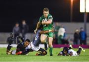9 September 2017; Matt Healy of Connacht is tackled by Oliver Zono of Southern Kings during the Guinness PRO14 Round 2 match between Connacht and Southern Kings at The Sportsground in Galway. Photo by Seb Daly/Sportsfile